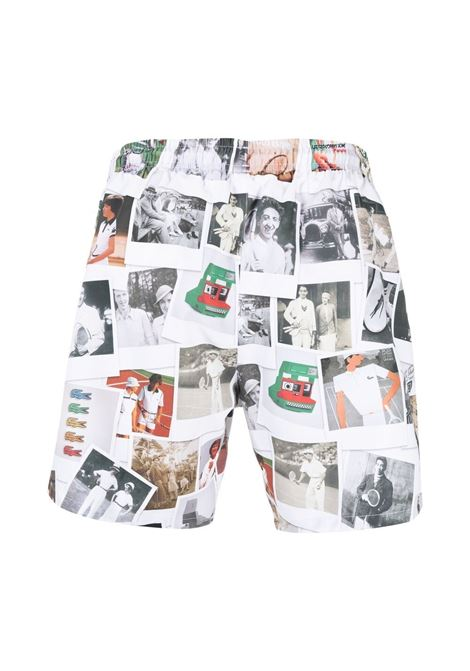 Lacoste Live print swimwear men multicolor LACOSTE | Swimwear | MH3881X4D
