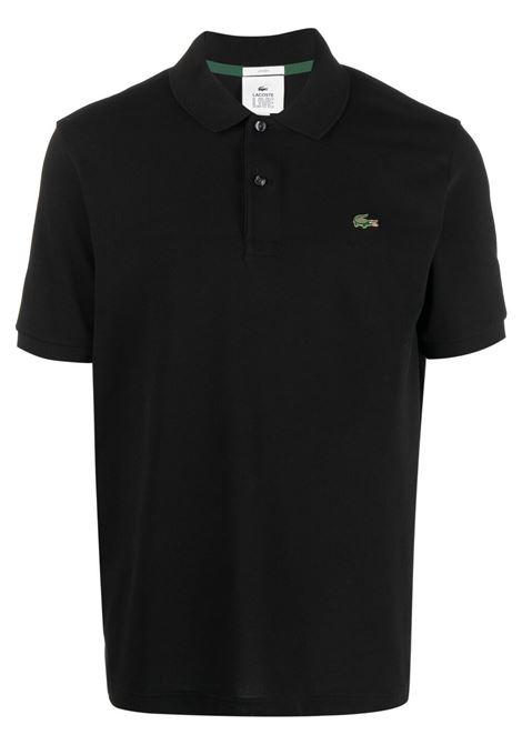 Lacoste Live polo con logo uomo nero LACOSTE | Polo | PH9161031