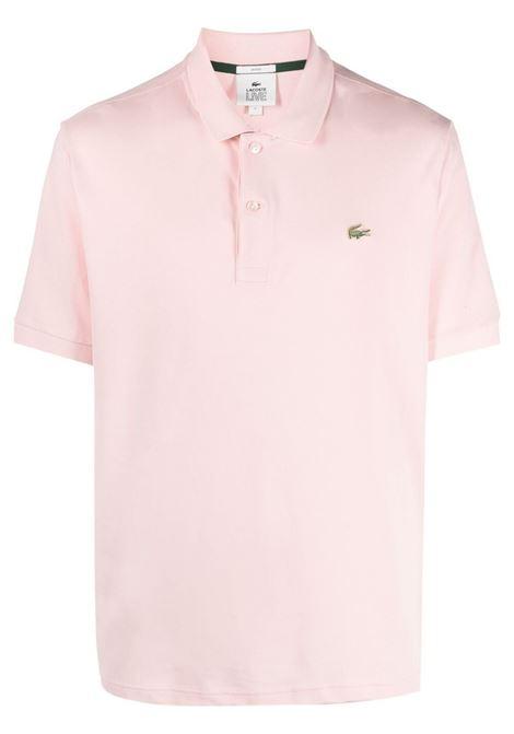 Lacoste Live polo con logo uomo rosa LACOSTE | Polo | PH9161ADY