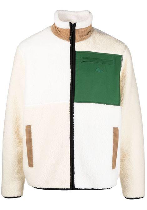 Lacoste Live giacca con zip uomo bianco LACOSTE LIVE | Giacche | SH9180RV6