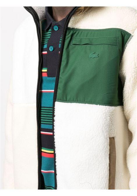 Lacoste Live zip jacket man white LACOSTE LIVE | Jackets | SH9180RV6