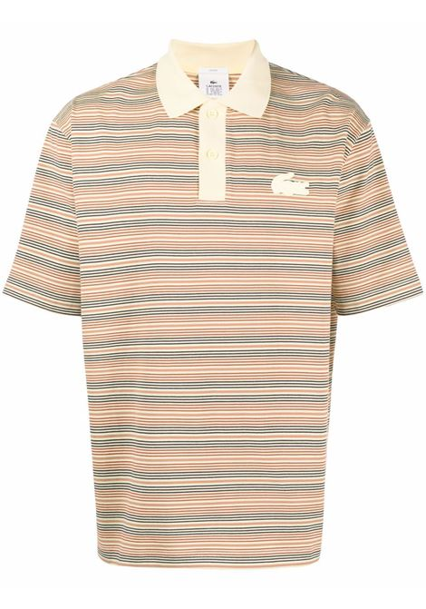 Lacoste striped polo man multicolor LACOSTE | Polo | DH1234LW2