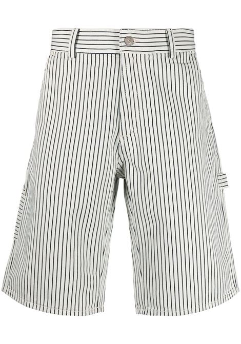 Lacoste striped shorts man white LACOSTE | Shorts | FH25818LP