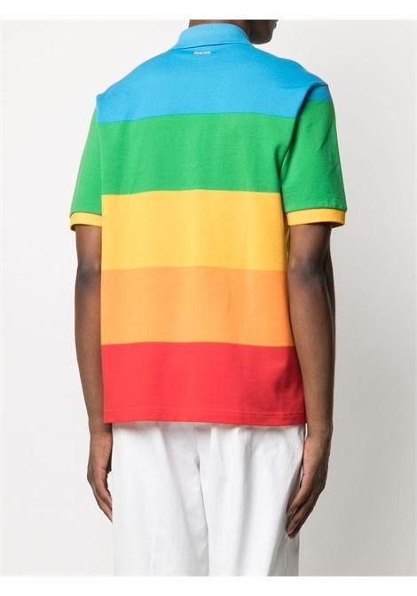polo a righe uomo multicolor in cotone LACOSTE | Polo | PH2082LLX