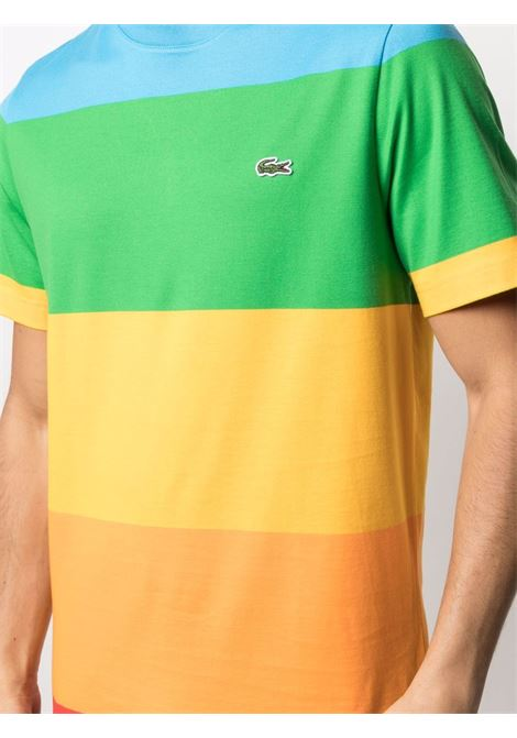 Lacoste logo t-shirt man multicolor LACOSTE | T-shirts | TH2098LLX