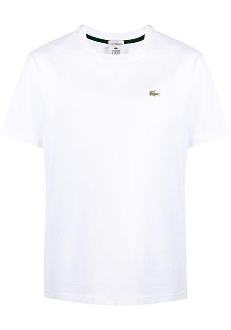 Lacoste t-shirt con logo uomo bianco LACOSTE | T-shirt | TH9166001
