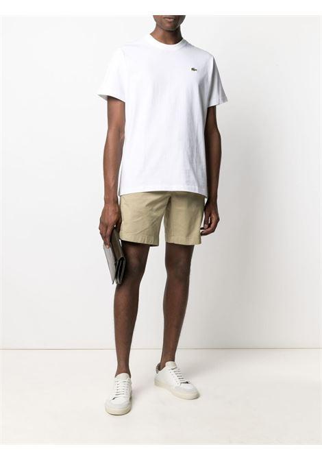 Lacoste t-shirt con logo uomo bianco LACOSTE   T-shirt   TH9166001