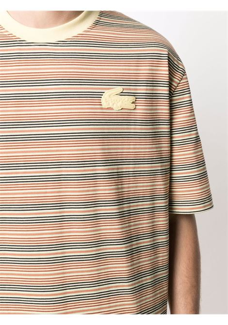 Lacoste t-shirt a righe unisex LACOSTE | T-shirt | TH9186LW2