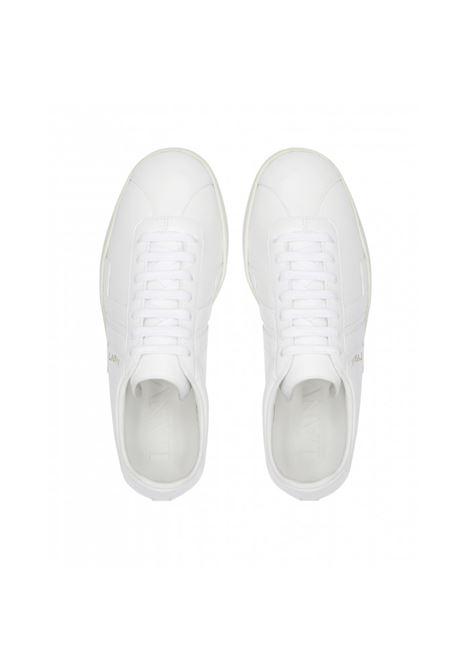 Lanvin sneakers con lacci uomo bianco LANVIN | Sneakers | FM-SKDLON-MASO00