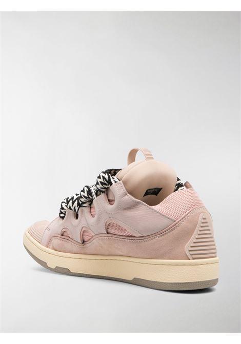 Lanvin sneaker con lacci a zig zag uomo LANVIN | Sneakers | FM-SKRK11-DRAG51
