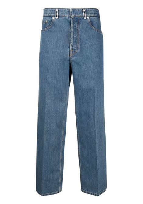 jeans a gamba dritta uomo denim LANVIN | Jeans | RM-TR0007-D00222