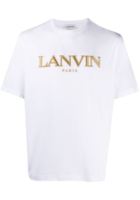 Lanvin paris t-shirt man white LANVIN | T-shirts | RM-TS0002-J00701