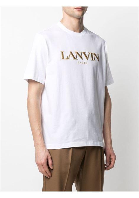 Lanvin t-shirt paris uomo bianco LANVIN | T-shirt | RM-TS0002-J00701