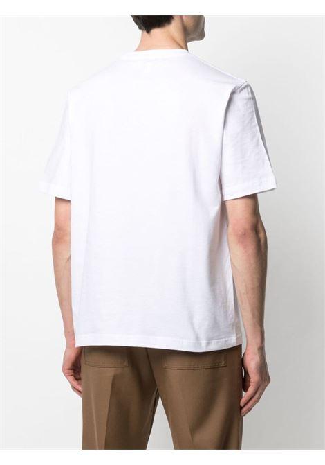 Lanvin paris t-shirt man white LANVIN | T-shirts | RM-TS0002-J00701