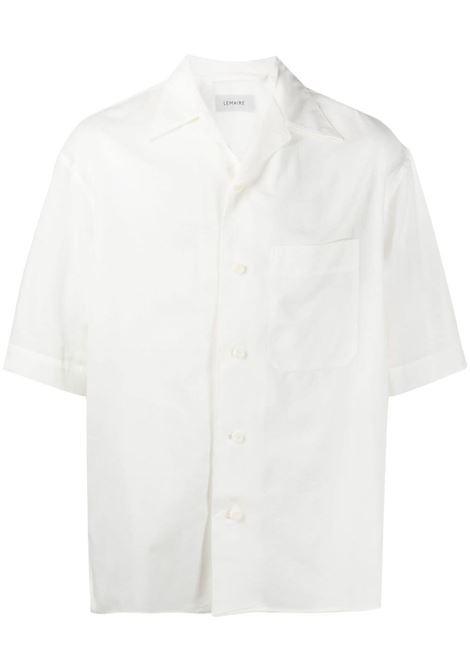 Lemaire camicia a maniche corte uomo LEMAIRE | Camicie | M 211 SH160 LF551000
