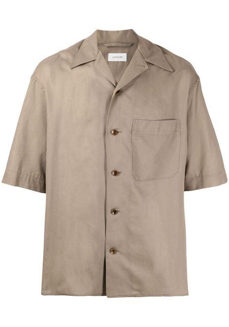 Lemaire camicia a maniche corte uomo LEMAIRE | Camicie | M 211 SH160 LF551437