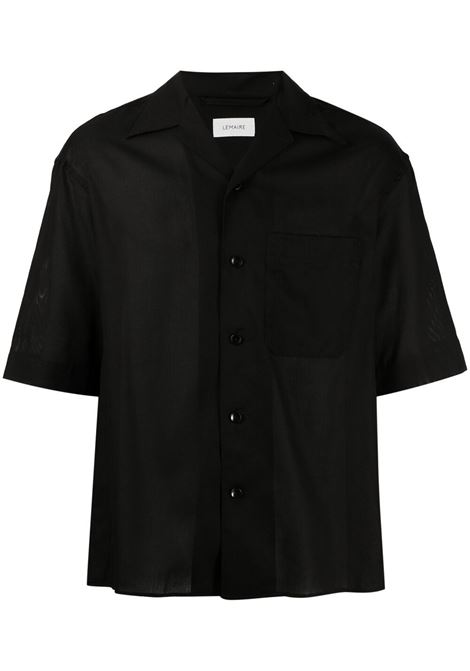 Lemaire camicia a maniche corte uomo LEMAIRE | Camicie | M 211 SH160 LF551999