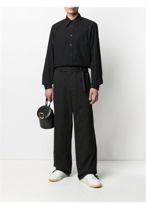 Lemaire pantaloni con coulisse uomo nero LEMAIRE | Pantaloni | X 211 PA165 LF575999