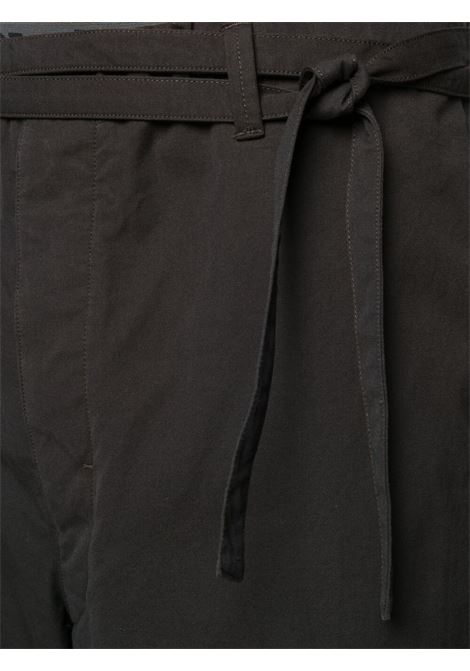 Lemaire drawstring trousers man black LEMAIRE | Trousers | X 211 PA165 LF575999