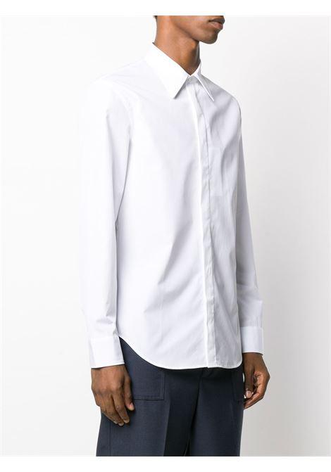 Maison Margiela camicia con chiusura nascosta uomo MAISON MARGIELA | Camicie | S50DL0435 S43001100