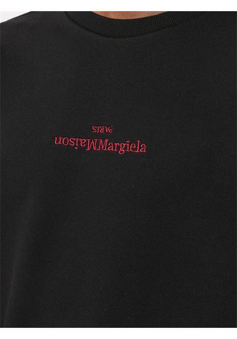 Maison Margiela felpa con logo uomo MAISON MARGIELA | Felpe | S50GU0166 S22533900