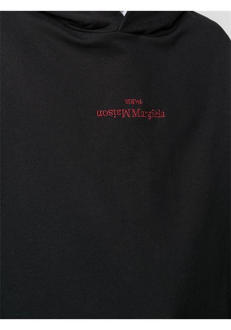 Maison Margiela felpa con cappuccio con logo uomo MAISON MARGIELA | Felpe | S50GU0167 S25503900
