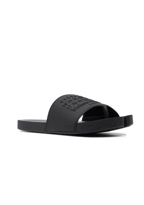 Maison Margiela sandalo slide tabi uomo MAISON MARGIELA | Sandali | S57WX0075 P4027T8008