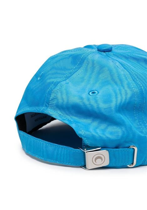 MOIRE BRANDED CAP MARINE SERRE | Hats | A008SS21X-WOTPL00106