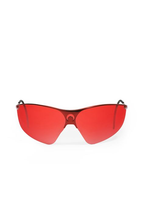 Marine Serre gentle monster x ms metal visor unisex rosso MARINE SERRE | Occhiali da sole | JW021SS21X ME818-02