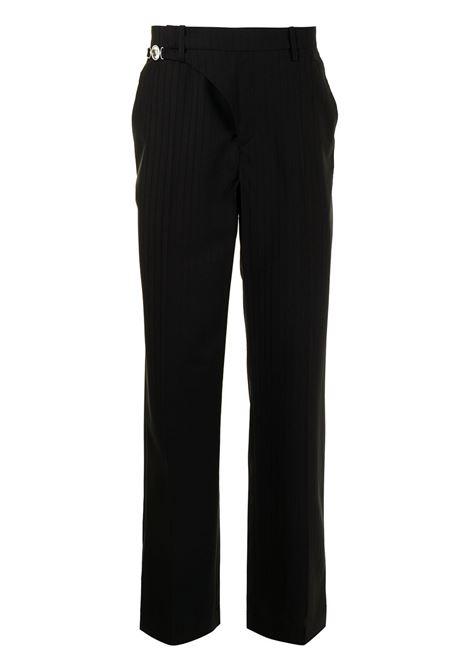Marine Serre straight leg trousers man MARINE SERRE | Trousers | P063SS21MU00