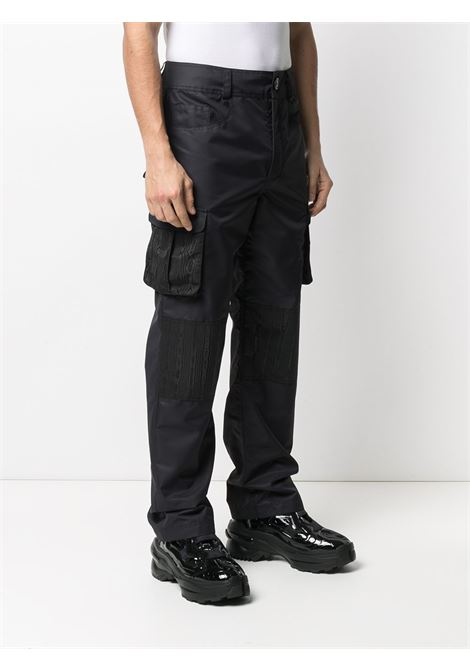 CARGO TROUSERS MARINE SERRE | Trousers | P081SS21M-WOTPA00000