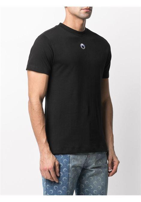 MOON LOGO TEE MARINE SERRE | T-shirts | T035ICONM-JERCO00200