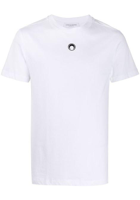 Marine Serre t-shirt moon logo uomo MARINE SERRE | T-shirt | T035ICONM-JERCO00201