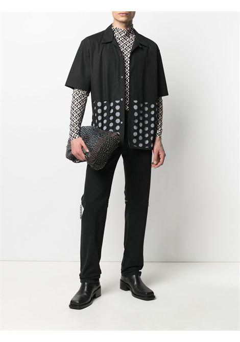 MOON LOZENGE TURTLENECK MARINE SERRE | T-shirts | T088SS21M-JERPA002000