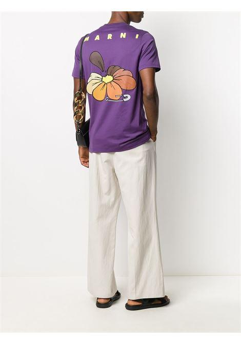 LOGO T-SHIRT MARNI | T-shirts | HUMU0205P0 S2372700C75