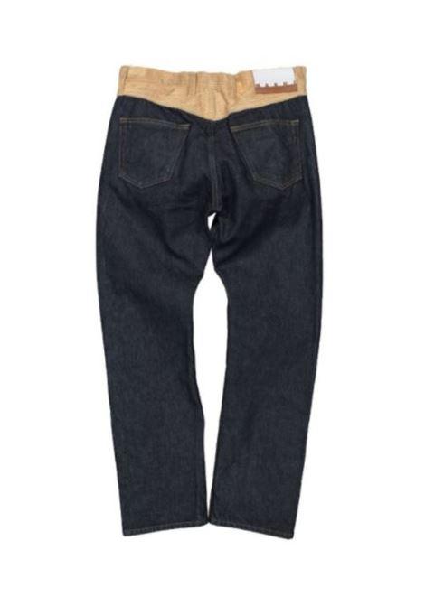 CONTRAST BUSTIER DENIM MARNI | Jeans | PUJU0017QM S3070000B99
