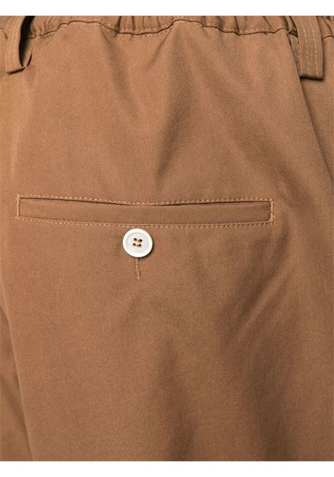 Marni straight leg trousers man brown MARNI | Trousers | PUMU0017A0 S5385200M28