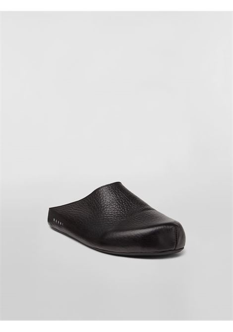 LEATHER SABOT MARNI | Sandals | SBMR000600 P393300N99
