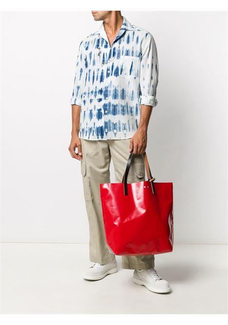 Marni shopper in pvc uomo MARNI | Borse | SHMQ0000A3 P3572Z2M82