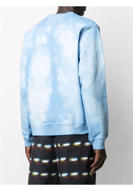Martine Rose print logo sweatshirt man sky MARTINE ROSE | Sweatshirts | MR601TMR061