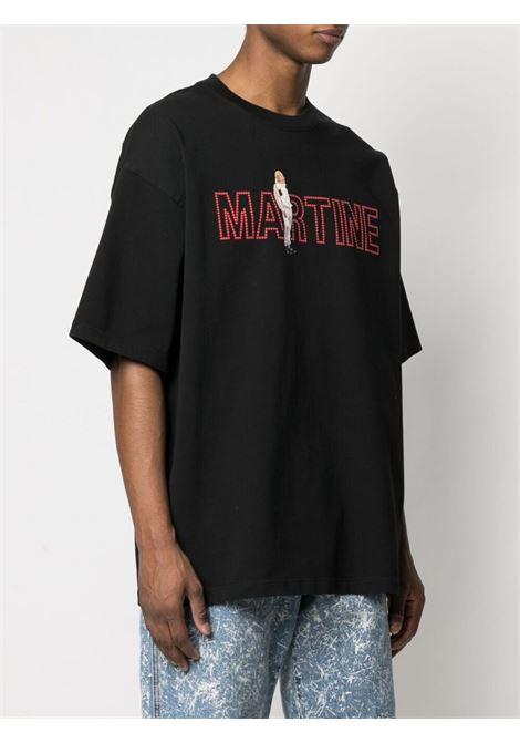 Martine Rose t-shirt con stampa uomo nero MARTINE ROSE   T-shirt   MR621NMR9MA
