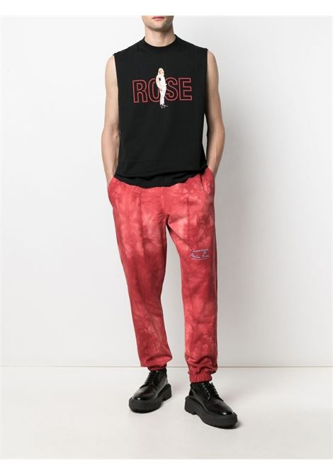 Martine Rose top con stampa uomo nero MARTINE ROSE | T-shirt | MR625MR9MA