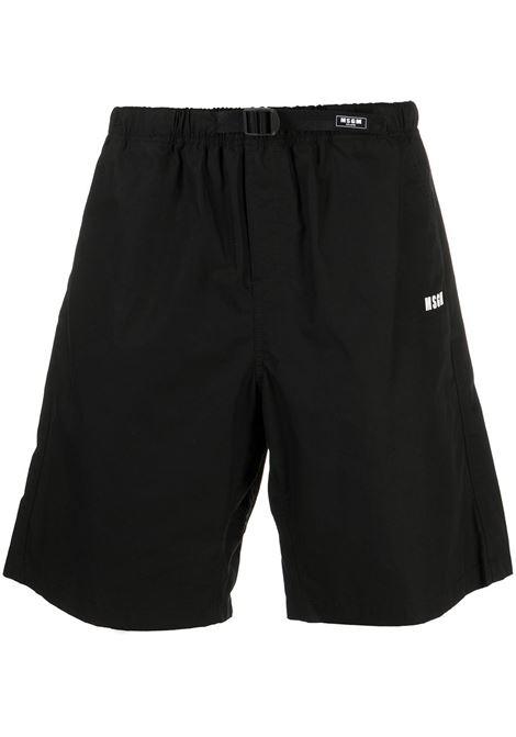LOGO SHORTS MSGM | Shorts | 3040MB05X 21710499