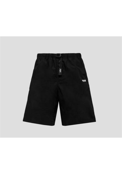 logo shorts man black MSGM | Shorts | 3040MB05X 21710499