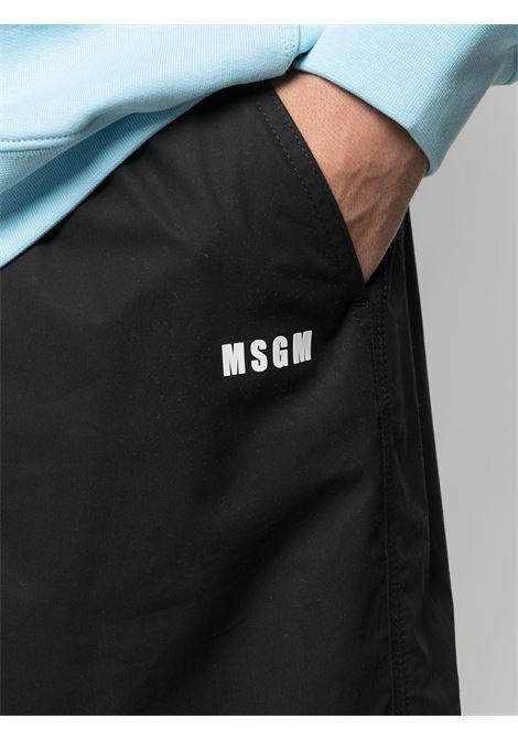 Msgm bermuda con logo uomo MSGM | Bermuda | 3040MB05X 21710499