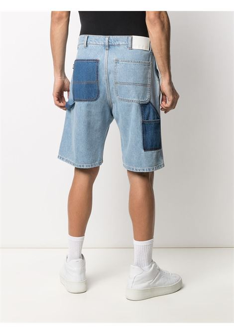 PANELLED STRAIGHT LEG SHORTS MSGM | Shorts | 3040MB43L 21708984