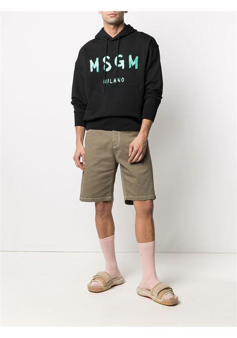 Msgm bermuda elasticizzato uomo MSGM | Bermuda | 3040MB44T 21727936