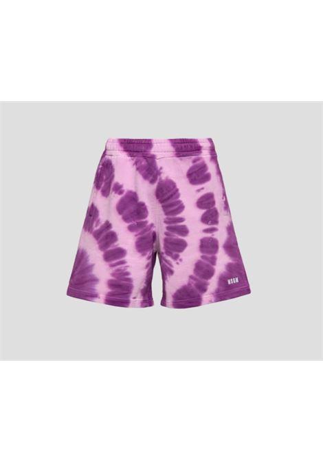 TIE DYE SHORTS MSGM | Shorts | 3040MB63 21709572