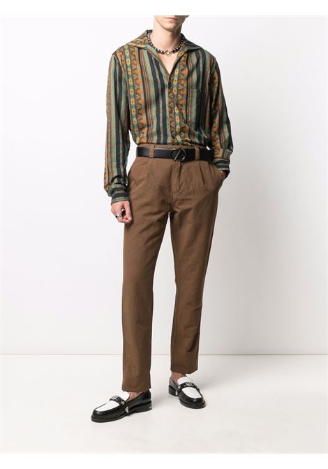 Camicia a righe Uomo NEEDLES   Camicie   IN122BLUE