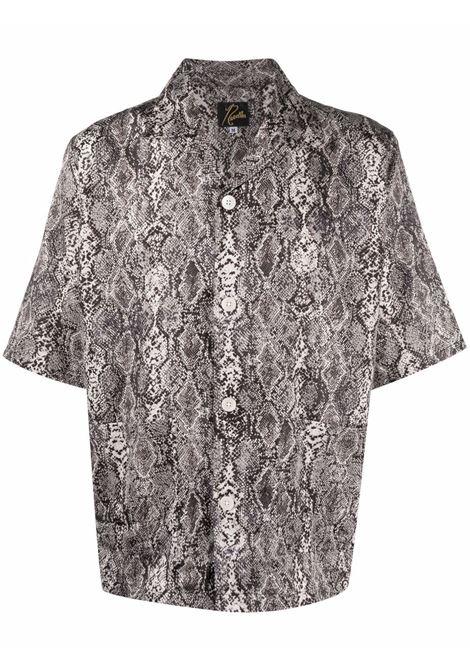 Needles short-sleeves shirt man NEEDLES | Shirts | IN169WHITE